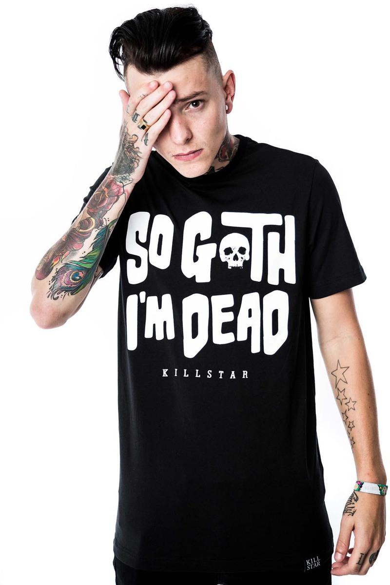 Killstar t-Shirt Gothic and Punk Mens Rave KIL253