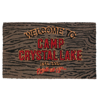 Predpražnik Friday the 13th - Doormat Welcome To Camp, NNM, Friday the 13th