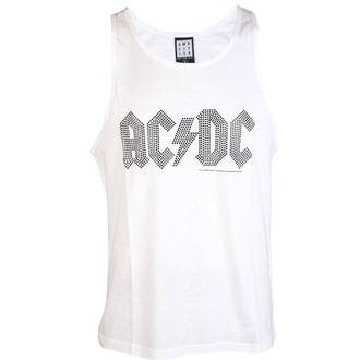 moški top AC / DC - BLACK LOGO DIAMONTE WHITE - AMPLIFIED, AMPLIFIED, AC-DC