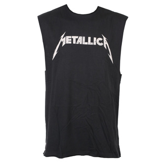 Unisex TOP Metallica - White Logo - AMPLIFIED, AMPLIFIED, Metallica
